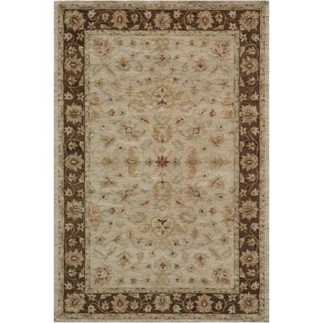 "Momeni Taj Mahal Hand-Tufted Wool Rug - 5'x7'9"""