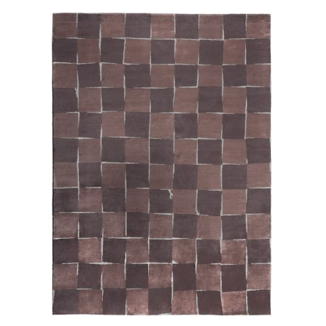 "Momeni Java Hand-Knotted Rug - Wool-Silk, 8'9""x11'9"""