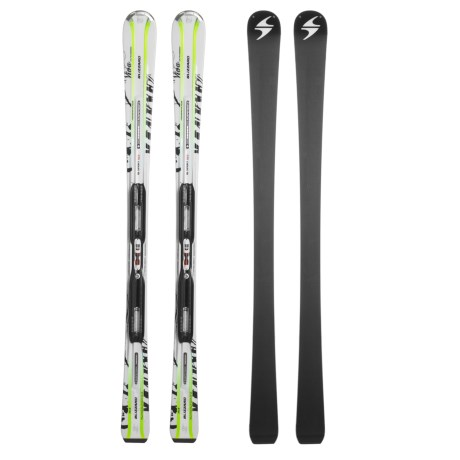Blizzard 2011/2012 Viva Ultrasonic Power IQ Alpine Skis - IQ Power 11 Bindings (For Women)