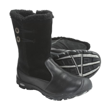 Keen Libby Winter Boots - Suede, Fleece Lining (For Kids and Youth)