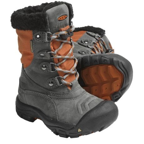 Keen Basin Winter Boots - Waterproof, Insulated, Nubuck (For Kids and Youth)