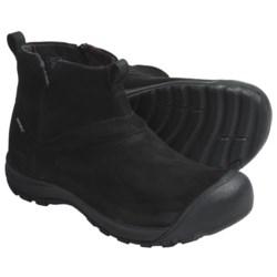 Keen Pearson Mid Slip-On Boots - Waterproof, Nubuck (For Men)