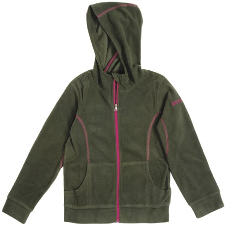 Columbia Sportswear Glacial Hoodie Sweatshirt - Microfleece (For Youth Girls)