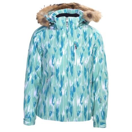 Descente Sheila Jacket - Insulated, Raccoon Fur Trim (For Women)