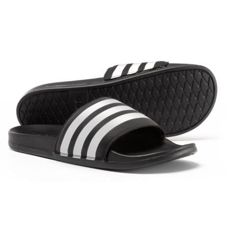 adidas Adilette Cloudfoam® Plus Slide Sandals (For Men)