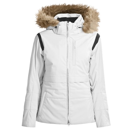 Descente Cleo Insulated Jacket - Raccoon Fur Trim (For Women)