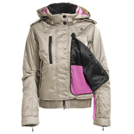 Descente Chloe Glamour Jacket - Insulated, Fur Trim (For Women)