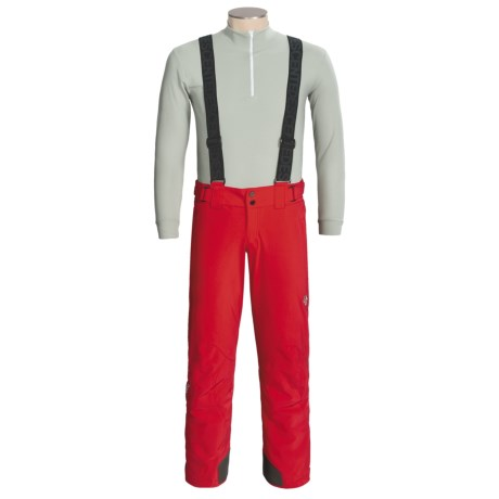 Descente Carve Snow Pants with Suspenders - Insulated (For Men)