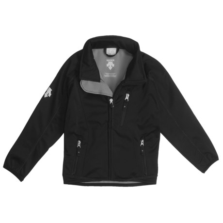 Descente Jr. Team Jacket - Soft Shell (For Boys and Girls)