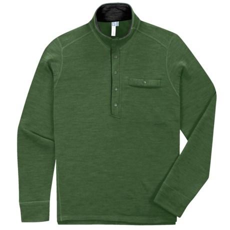 Ibex Nomad Half-Snap Pullover - Merino Wool, Fleece (For Men)