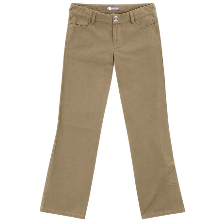Ibex OC Canvas Pants - Organic Cotton, Straight Leg (For Women)