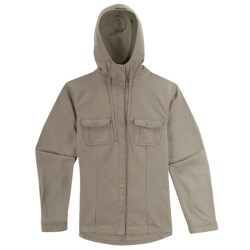 Ibex OC Canvas Hooded Jacket - Organic Cotton (For Women)