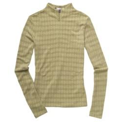 Ibex Seventeen.5 Razzel Base Layer Top - Merino Wool, Zip Neck, Lightweight, Long Sleeve (For Women)
