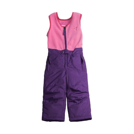 Fera Fuzzy Overalls - Insulated (For Girls)