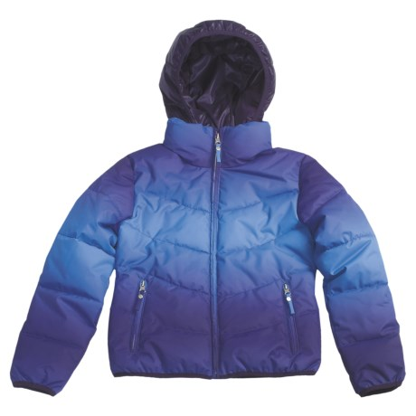Fera Jr. Starlight Ombre Jacket - Insulated (For Youth Girls)