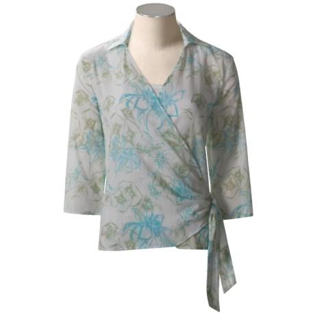 Columbia Sportswear Tropical Shirt - ¾ Sleeve (For Women)