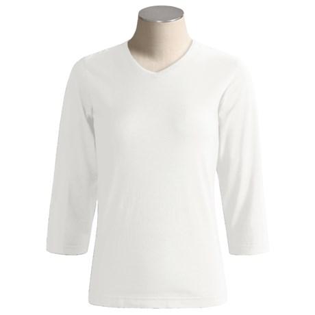 Columbia Sportswear Flowerfield T-Shirt - 3/4 Sleeve (For Women)