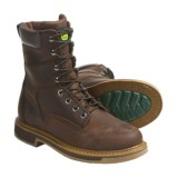 "John Deere Footwear 8"" Nutty Mule Work Boots - Oiled Leather, Lace-Ups (For Men)"