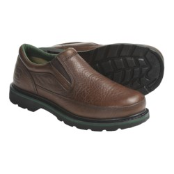 John Deere Footwear Copper KettleTwin Gore Work Shoes - Oiled Leather, Slip-Ons (For Men)