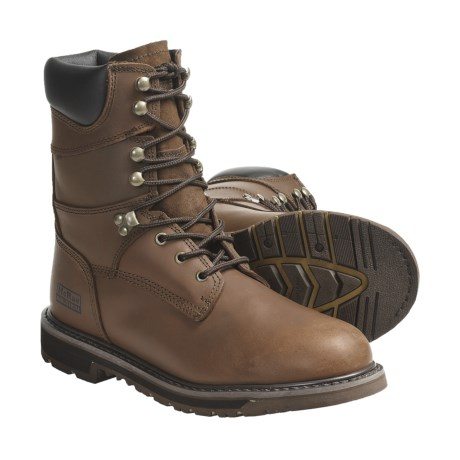 """McRae Work Boots - 8"""", Leather (For Men)"""