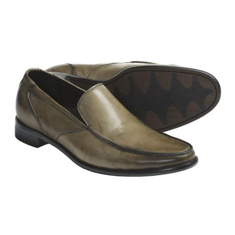 Auri Marcus Venetian Shoes - Leather, Slip-Ons (For Men)