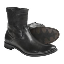 Auri Dante Leather Boots - Inside Zip (For Men)