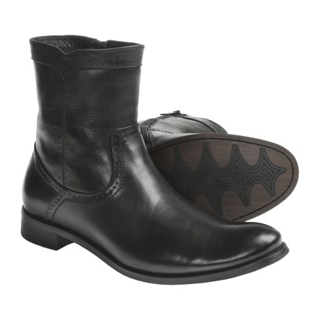 Auri Dante Leather Boots - Inside Zip (For Men)