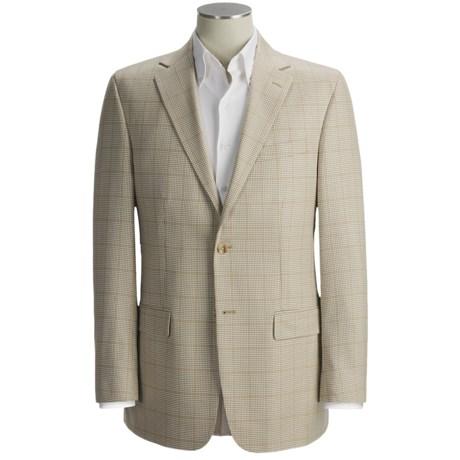 Oscar de la Renta Holbrook Houndstooth Sport Coat - Silk-Wool (For Men)