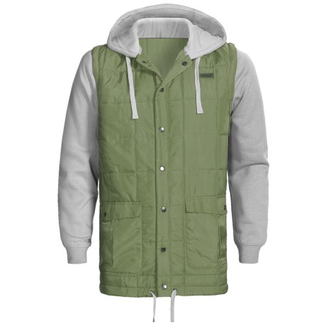 Foursquare Frame Jacket - Removable Sleeves (For Men)