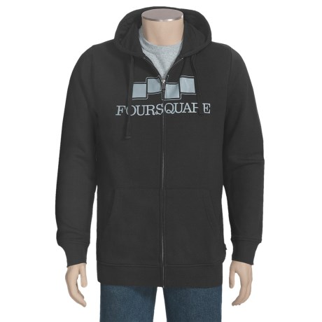 Foursquare Berm Hoodie Sweatshirt (For Men)