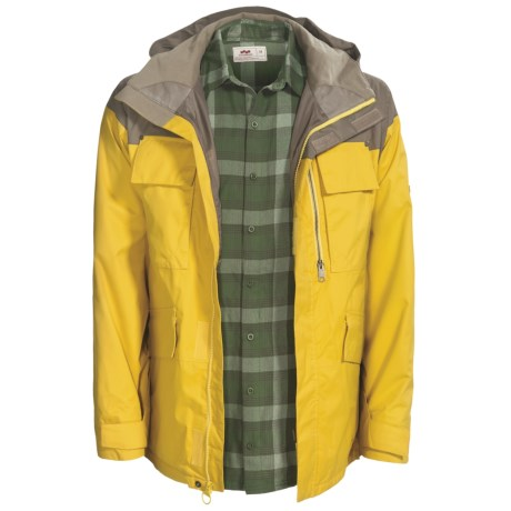 Foursquare Torque Jacket - Waterproof, 3-in-1 (For Men)