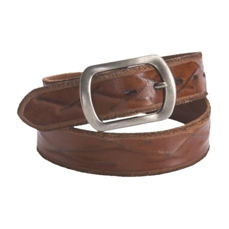 Silver Jeans Hawthorn Leather Belt (For Men)