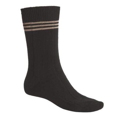 ECCO Multi-Stripe Golf Socks - Pima Cotton (For Men)