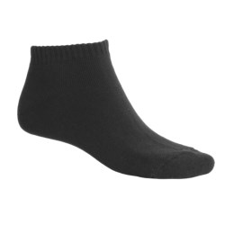 ECCO Solid No-Show Golf Socks - Midweight, Combed Cotton (For Men)