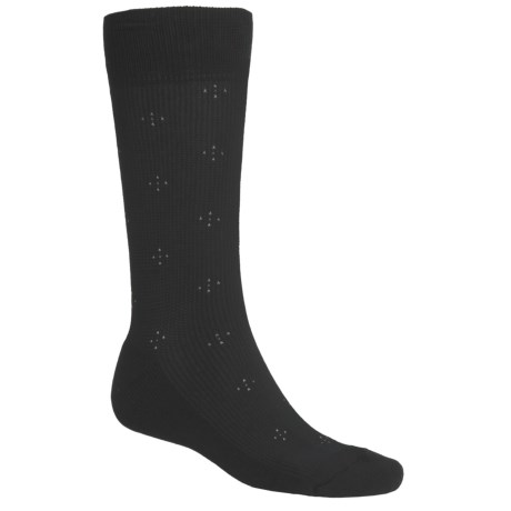 ECCO Pin-Dot Cotton Cushioned Golf Socks - Crew (For Men)