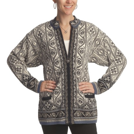 Dale of Norway Osa Cardigan Sweater - New Wool (For Women)
