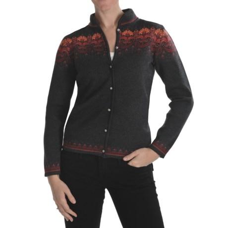 Dale of Norway Martha Cardigan Sweater - Merino Wool (For Women)