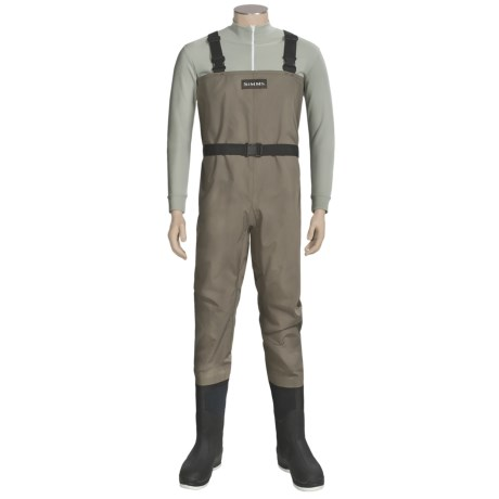 Simms Blackfoot Chest Waders - Muck Boot Arctic Sport Felt Sole Boots (For Men)