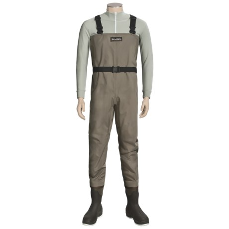 Simms Blackfoot Chest Waders - Muck Boot Wetlands Felt Sole Boots (For Men)