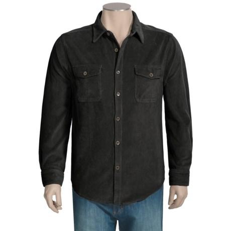 True Grit Stretch Cord Shirt - Long Sleeve (For Men)