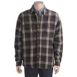 True Grit Vintage Plaid Shirt Jacket (For Men)