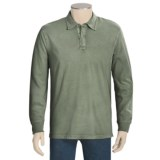 True Grit Vintage Polo Shirt - Long Sleeve (For Men)