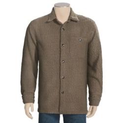 True Grit Cozy Big Shirt - Faux Shearling, Long Sleeve (For Men)