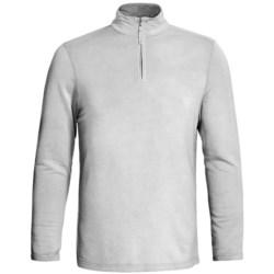 True Grit Pullover Shirt - TENCEL®, Zip Neck, Long Sleeve (For Men)