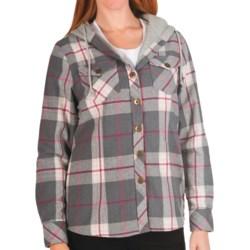 Nina Capri Missy Flannel Shirt Jacket - Thermal Lining (For Women)