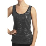 True Grit Sequin Tank Top - Stretch Knit (For Women)