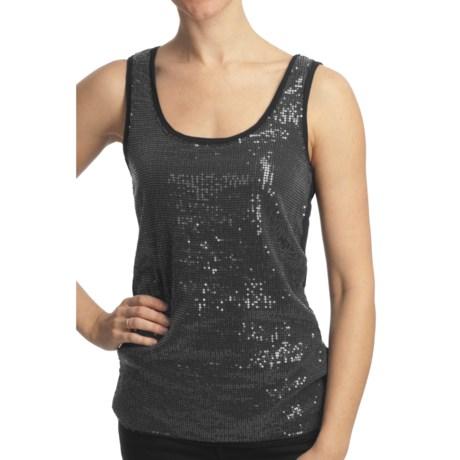 True Grit Sequin Tank Top - Stretch Knit (For Women)