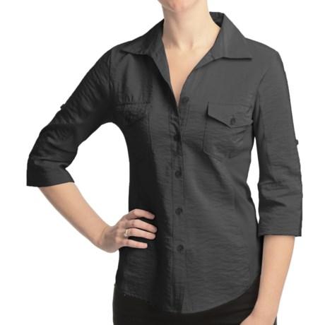 True Grit Shimmer Shirt - 3/4 Sleeve (For Women)