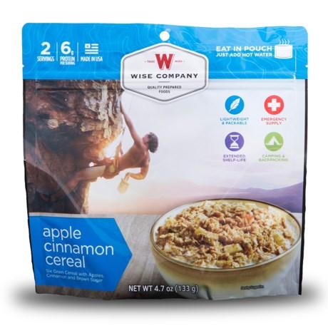 Wise Company Apple Cinnamon Cereal Food Pack - 2 Servings
