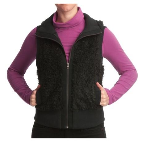 True Grit Luxe Fleece Mohair Vest (For Women)
